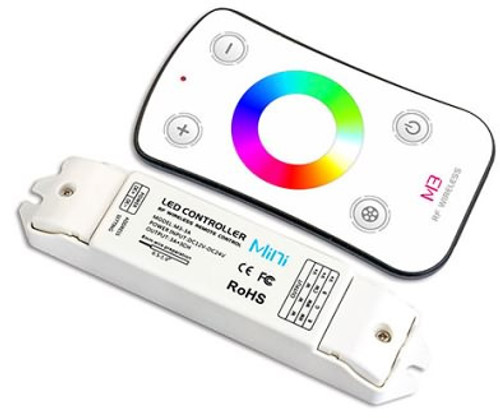 M3 LED RGB 12v/24v Controller and Receiver Pack - For RGB Strip Lights