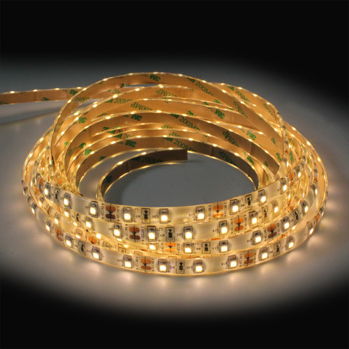300 Led Tape IP65 1500 Lumen 24W Warm White Ribbon Led (5 Metre reel)