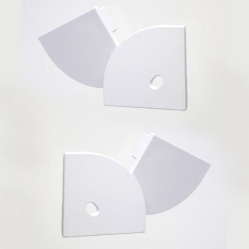 Set of 4 End Caps For Big Corner Channels 30x30mm