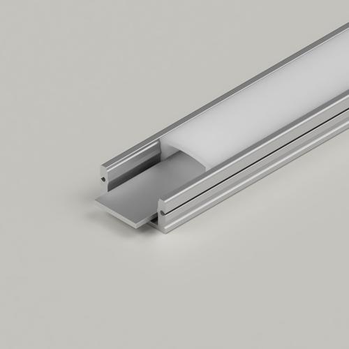 Standard Flat Water Resistant IP65 Profile In 2m Length Opal