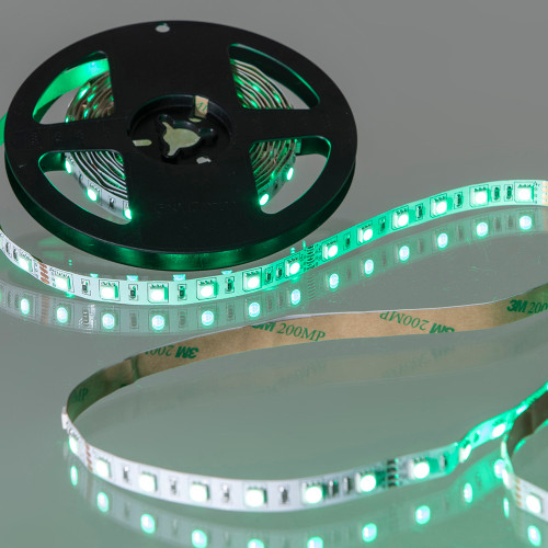 24V Tagra® LED Tape, RGB + Warm White 3000K Colour Changing, 18w p/m, IP20 (5m Reel)