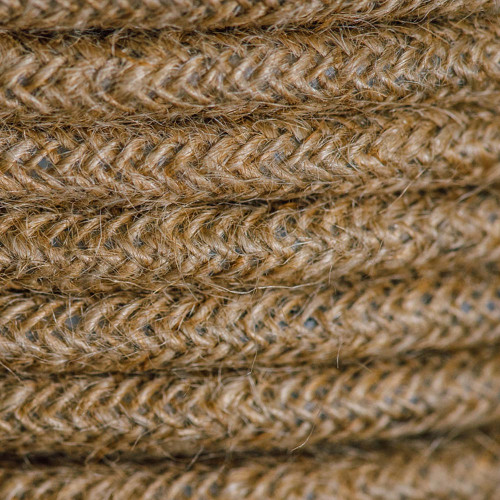 Braided Fabric Flex Cable Jute