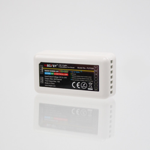 Receiver Unit 4 Zone 12/24V, For RGBCCT LED Tape
