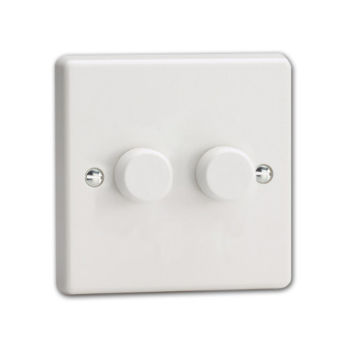 Varilight V-Pro 2 Gang 2-Way LED Dimmer Switch