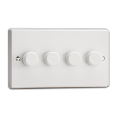 Varilight V-Pro 2 Gang 4-Way LED Dimmer Switch