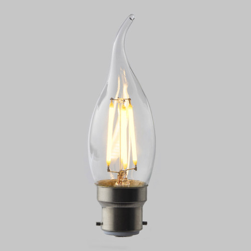 4w C35 Candle Flame Tip LED Filament Bulb