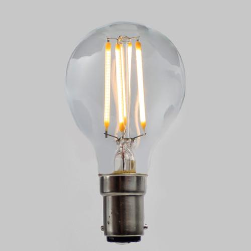 Golf Ball G45 LED Filament - B15 - 400lm - 2700K - Very Warm White - EasyDim