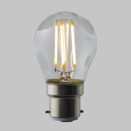 4w G45 Golf Ball LED Filament Bulb (B22) EasyDim