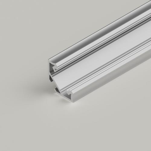 Straight Corner Channel 113x113mm, Silver, 3 Metre Length