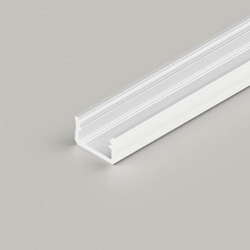 Standard V2 Channel 16x9.3mm, White, 2 Metre Length