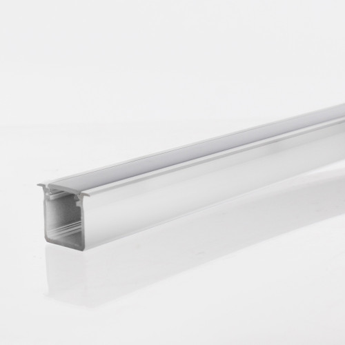 Extra Deep V2 With Trim Profile Channel, White, 2 Metre Length