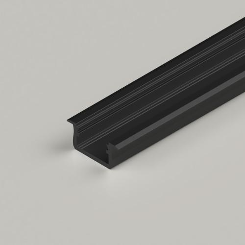 Standard V2 With Trim Channel, Black, 2 Metre Length