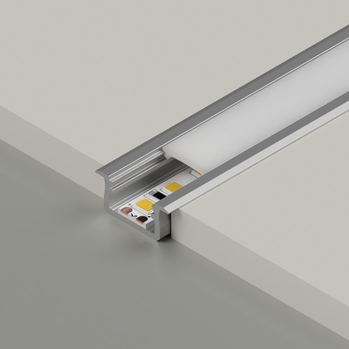 Standard V2 With Trim Channel, Silver, 2 Metre Length