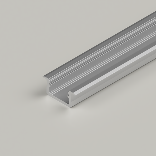 Standard V2 With Trim Channel, Silver, 3 Metre Length