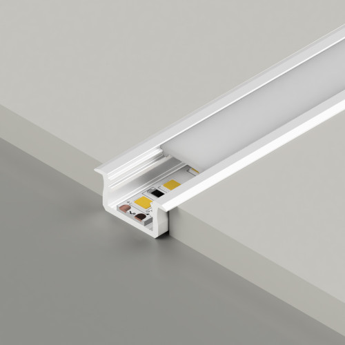 Standard V2 With Trim Channel, White, 3 Metre Length