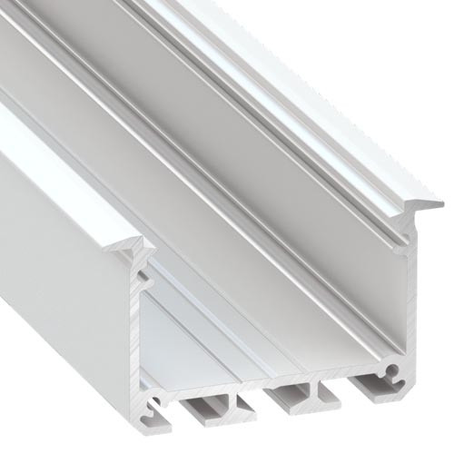 APIS with Trim Channel Profile 30 x 53 - 2 Metre Length White