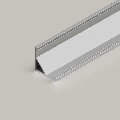 Small Corner Aluminium Channel 1616 - 3 Metre Length