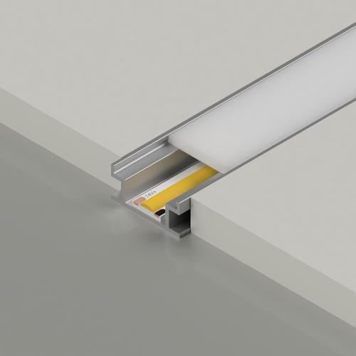 Walkover Aluminium Channel 19.1x8.1mm, Silver, 3 Metre Length
