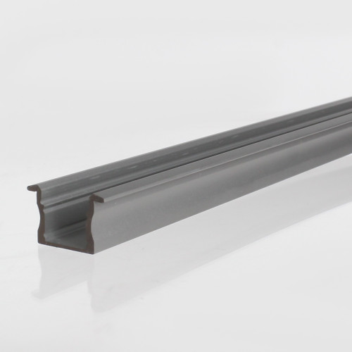 Extra Deep With Trim Aluminium Channel 23x14.5mm, Silver 2 Metre Length