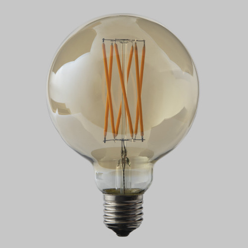 G95 Globe 6w Dimmable LED Filament Bulb (E27) EasyDim