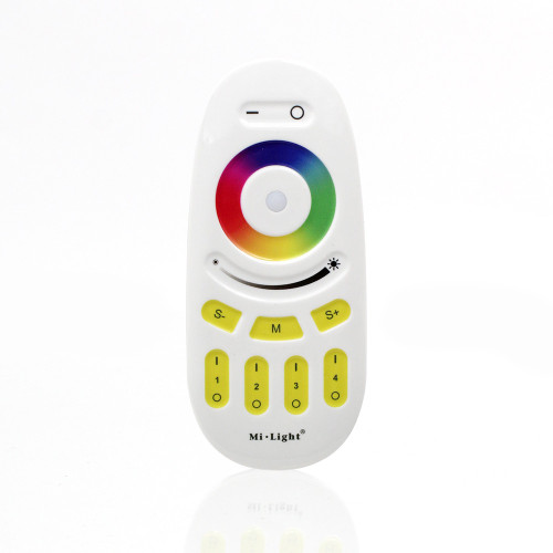 Handheld 4 Zone Remote Control and Receiver, 12/24V, For RGBW LED Tape