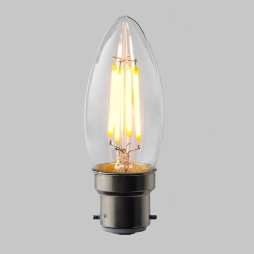 4w C35 Candle LED Filament Bulb (E27)