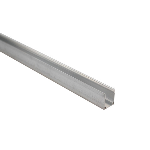 LED Neon Flex Aluminium Track Mounting Bracket - 1 Metre Lengths