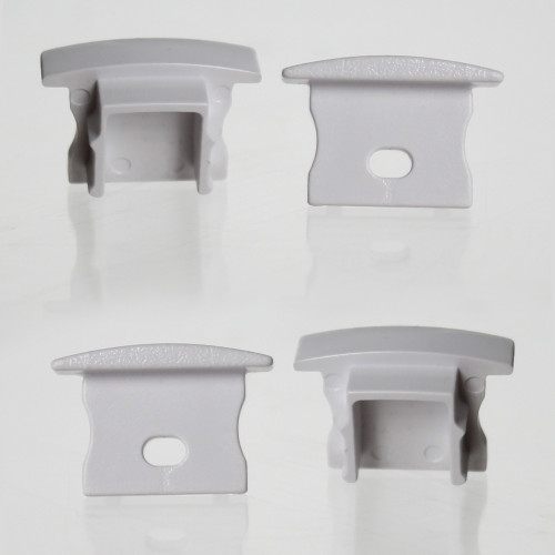Set of 4 End Caps for Extra Deep V1 with Trim Channel, 23x14.5mm