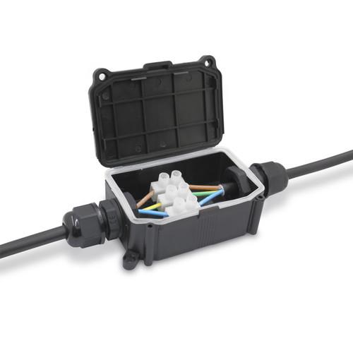 4 Core RGB Outdoor Connector Box 10A