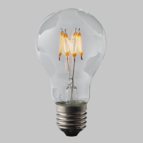 4W GLS LED Zigzag Filament Bulb E27 EasyDim