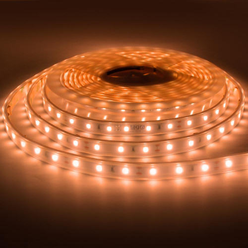 Premium IP65 LED Tape by Tagra®, Flame White, 12w p/m