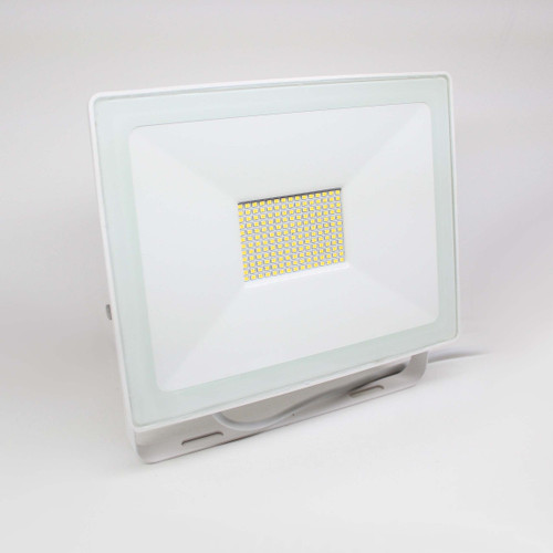 50W Slim White Flood Light 5200 lumens Wide Angle