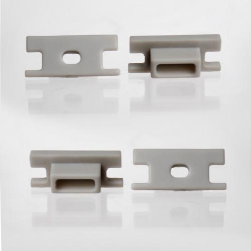 Set of 4 Endcaps for Water Resistant Walkover Aluminium Profile