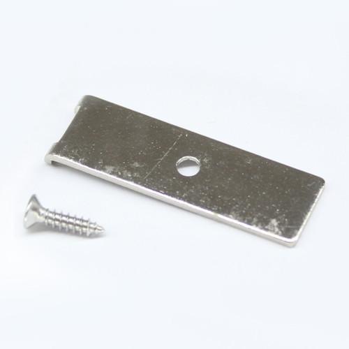 Viso Linear Lighting System Metal Mounting Bracket Set (Single)