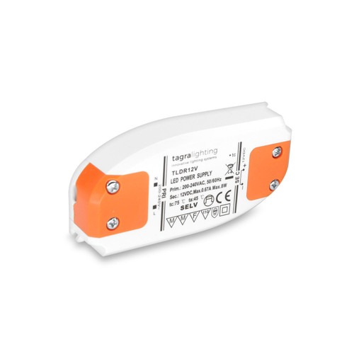 12v Slim Eco LED Driver / Power Supply - 8w 0.66Amp