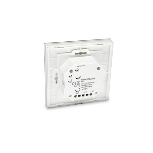 Elencho RGB Colour & CCT Warm/Cool White Wall Mounted Controller 12v 24v