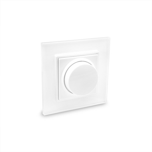Elencho Single Colour Rotary Wall Mounted Dimmer Controller 12v 24v