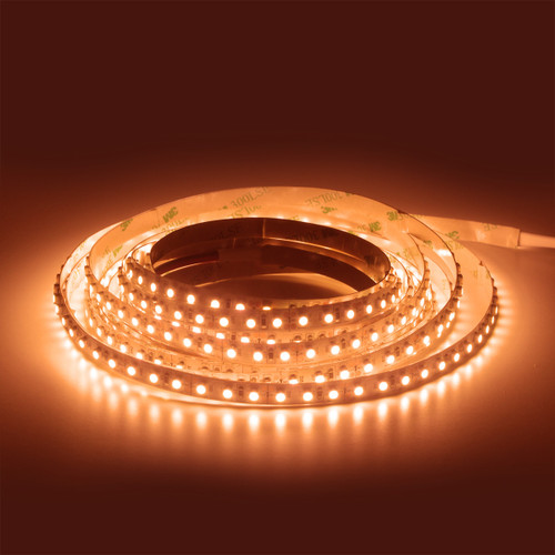 Premium 12v 2000K Flame White 90CRI 9.6W 120 X 3528 Epistar Chip LED Tape IP20