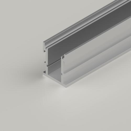 Extra Deep Walkover LED aluminium profile - 2 Metre