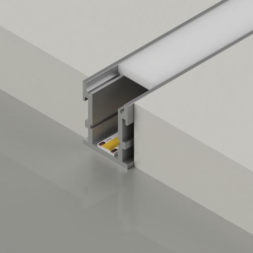Extra Deep Walkover LED aluminium profile - 3 Metre