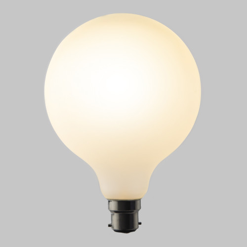 Frosted G125 Globe 4w Dimmable LED Filament Bulb (B22) EasyDim