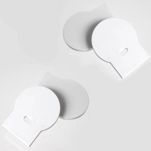 Set of 4 End Caps for Wide-Angle Large Circle Aluminium Profile