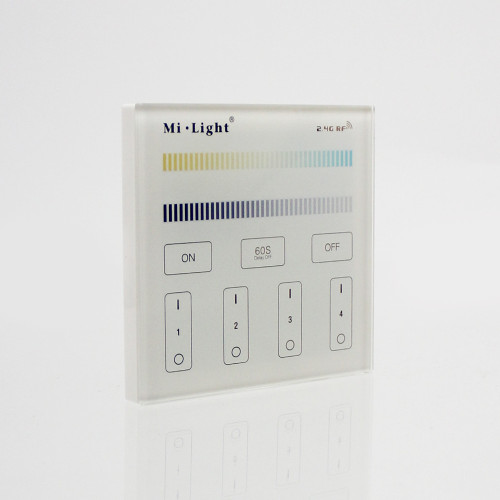 Wall Mounted 4 Zone Mains Powered Controller for CCT Receivers