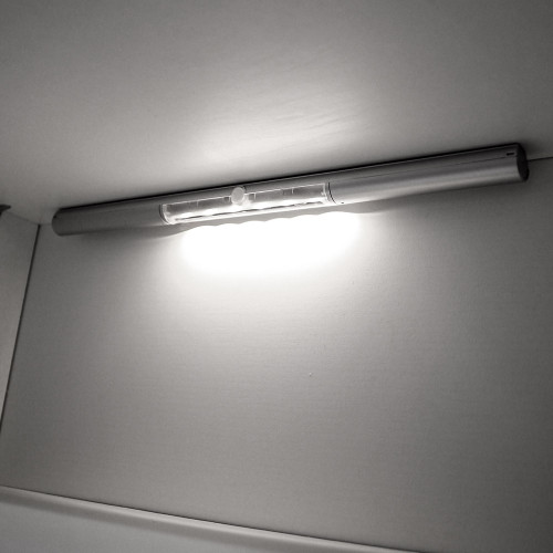 Battery Powered Motion Sensor LED Light Bar for Drawers and Cupboards, Neutral White 4000K