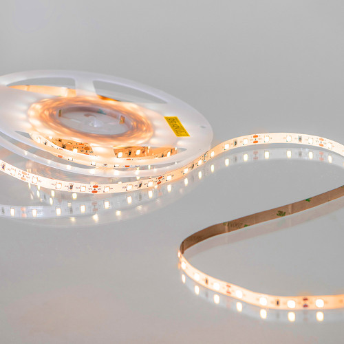 12V Easy to Use Eco Bright LED Tape, Flame White 2000K, 60 LEDs p/m, IP20 (5m Reel)