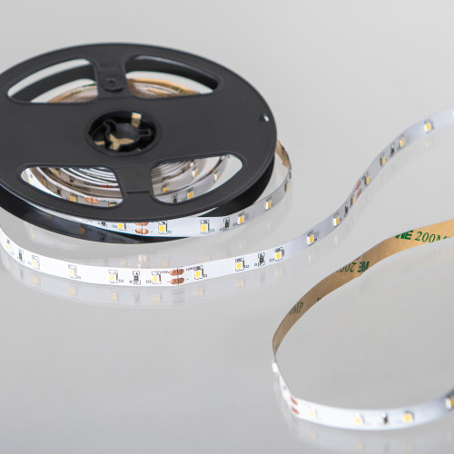 Easy to Use 24V 60 LEDs 4.8w p/m LED Tape, Flame White 2000K, IP20 (5m Reel)