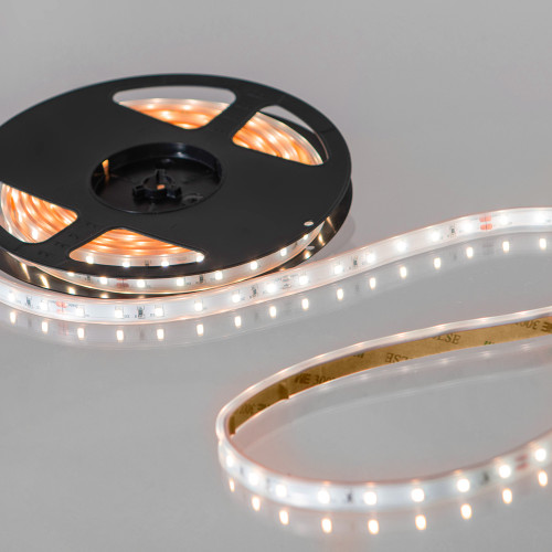 Easy to Use 24V 60 LEDs 4.8w p/m LED Tape, Flame White 2000K, IP65 (5m Reel)