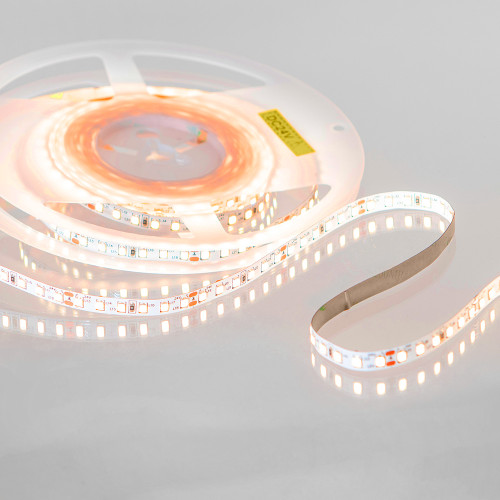Easy to Use 12V 120 LEDs 9.6w p/m LED Tape 2000k Flame White (5 Metre Reel)