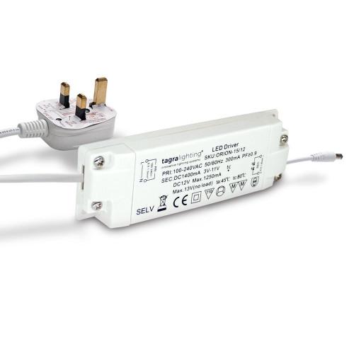 Premuim Orion Plug and Play Driver by Tagra® 12V 15W