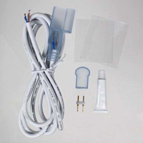 Slimline Water Resistant Single Colour Top View Neon Flex Accessories Pack, IP65